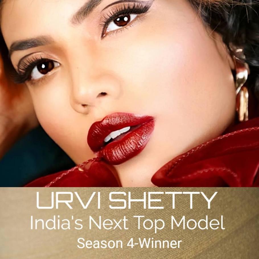 Urvi Shetty wins India's Next Top Model Season-4