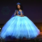 Miss Universe Cayman Islands,Caitlin Tyson during the national costume presentation