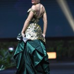 Miss Universe Croatia,Mia Pojatina during the national costume presentation