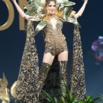 Miss Universe Lebanon,Maya Reaidy during the national costume presentation