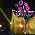 Miss Universe Malta,Francesca Mifsud during the national costume presentation