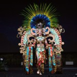 Miss Universe Mexico,Andrea Toscano during the national costume presentation