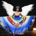 Miss Universe Singapore,Zahra Khanum during the national costume presentation