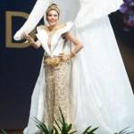 Miss Universe Thailand,Sophida Kanchanarin during the national costume presentation