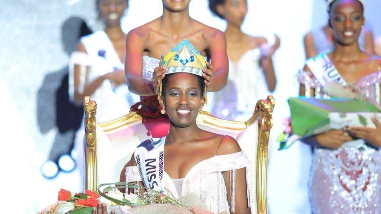 Meghan Nimwiza wins Miss Rwanda 2019