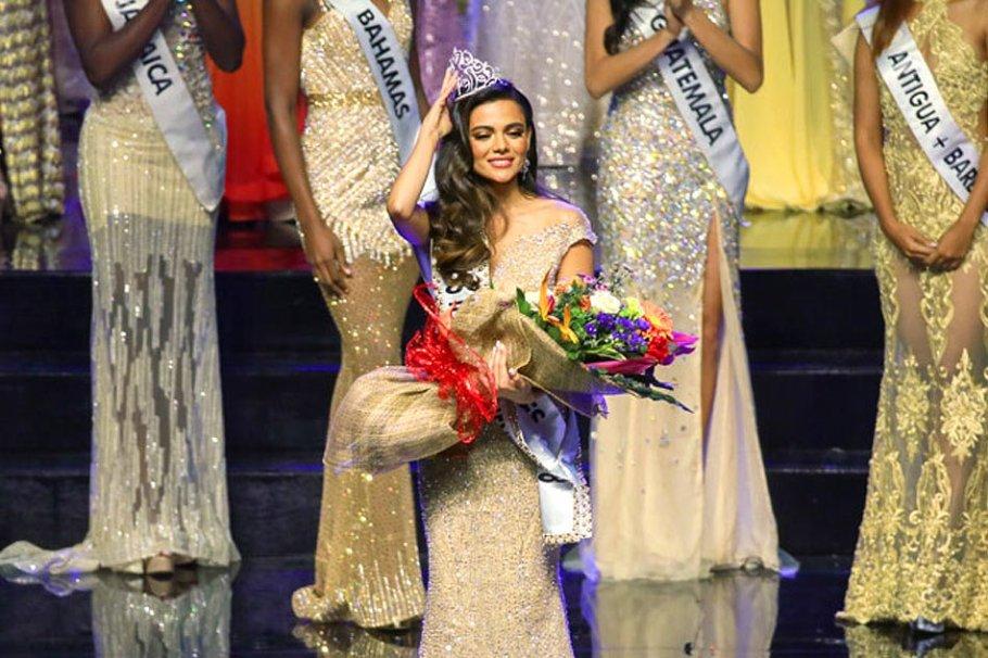 Karen Gallman from Philippines wins Miss Intercontinental 2018