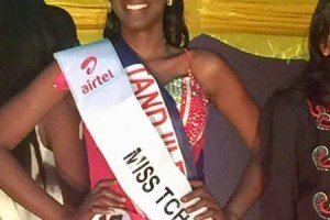 Caltouma Sindigue is Miss Chad 2019
