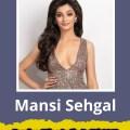 Mansi Sehgal will represent Delhi at Femina Miss India 2019