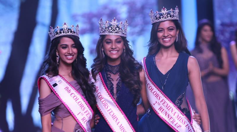 Femina Miss India 2018 winners