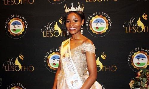Palesa Makara is Miss Lesotho 2019