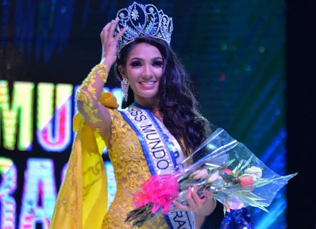 Maria Teresa Cortes crowned as Miss Mundo Nicaragua 2019