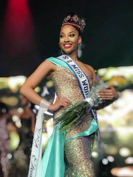 Nyah Bandelier crowned as Miss Bahamas 2019
