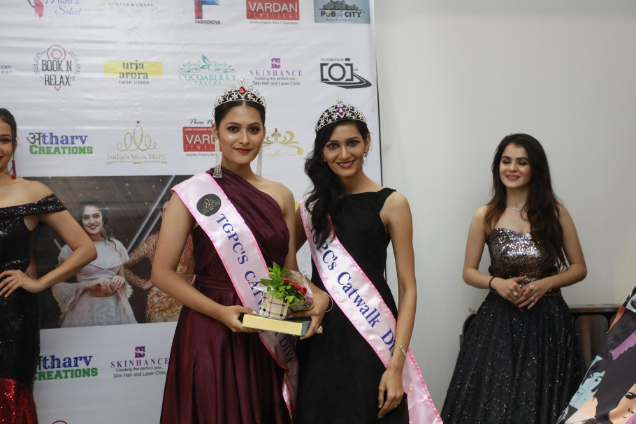 Giti Gour from Mumbai wins TGPC's Catwalk Diva Edition-3