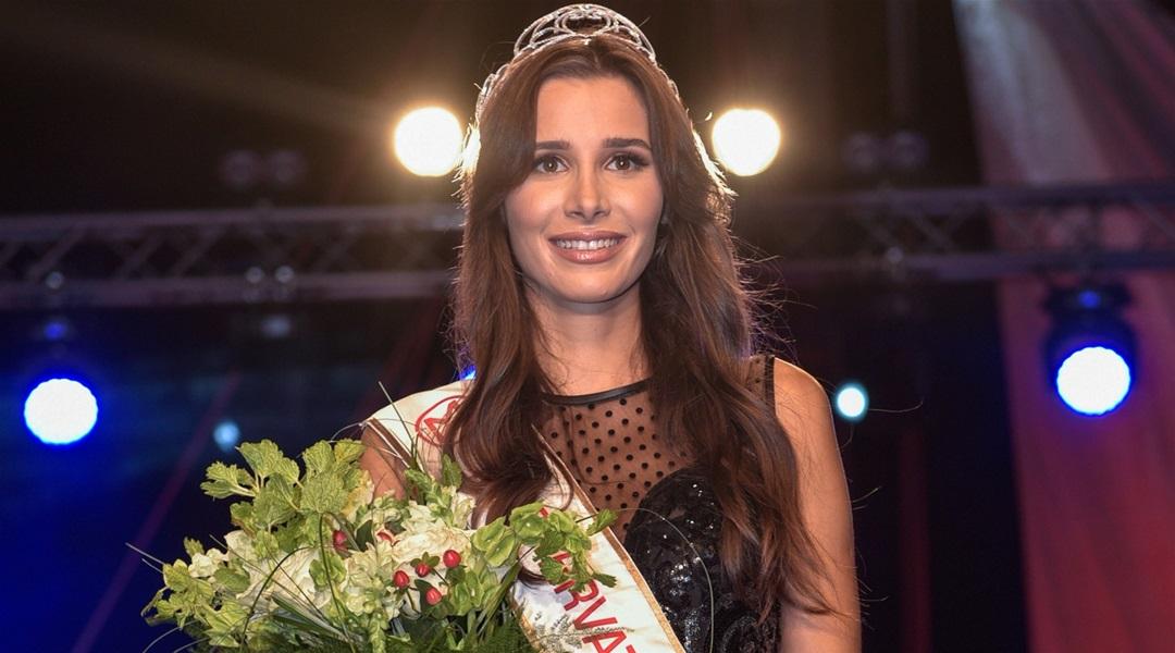 Katarina Mamić crowned as Miss Hrvatske 2019