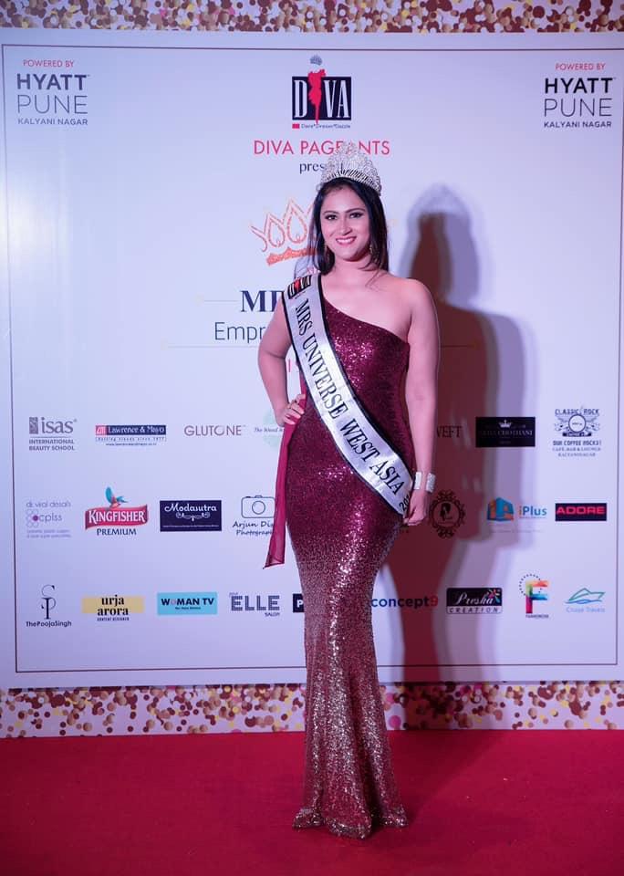 Dr. Vartika Parihar to represent West Asia at Mrs. Universe 2019