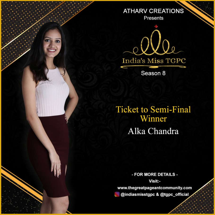 Alka Chandra semi final