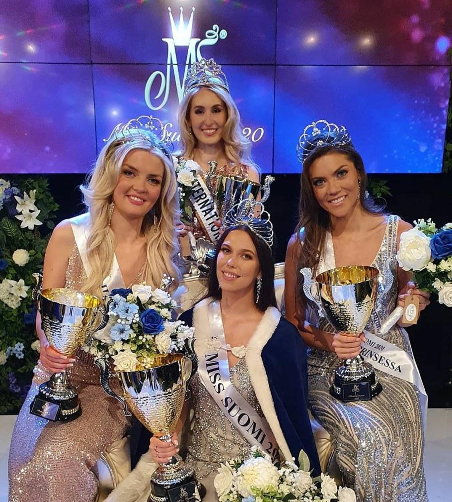 Meet the winners of Miss Suomi 2020