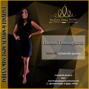 Hannah Tamalapakula
