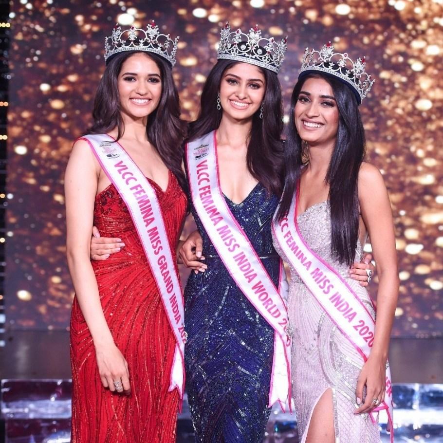 Femina Miss India 2020: Manasa, Manika and Manya take home the crowns