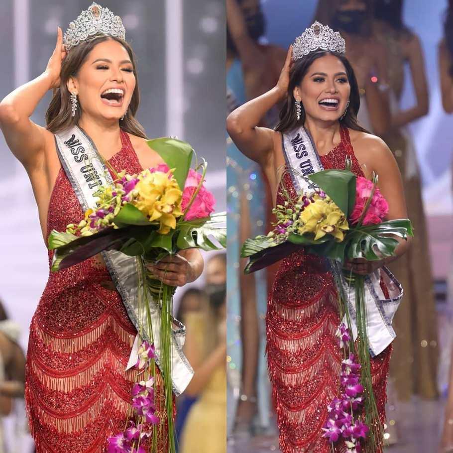 Andrea Meza of Mexico wins Miss Universe 2020