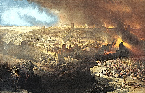 Destruction of Jerusalem as Metaphor for Economic Collapse on an Apocalyptic Scale