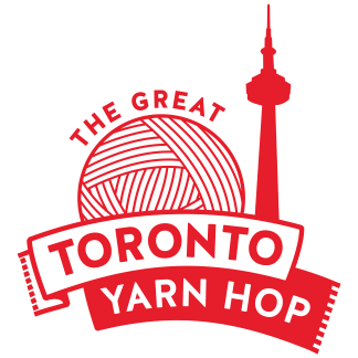 The Great Toronto Yarn Hop logo