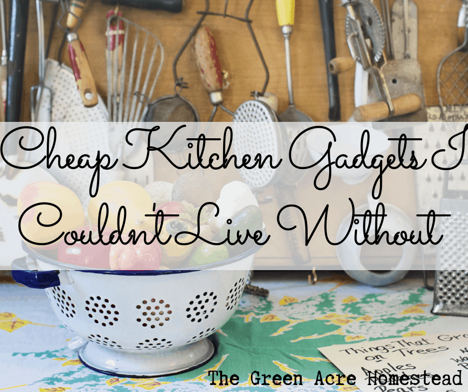 Cheap Kitchen Gadgets I Couldn't Live Without on TGAH