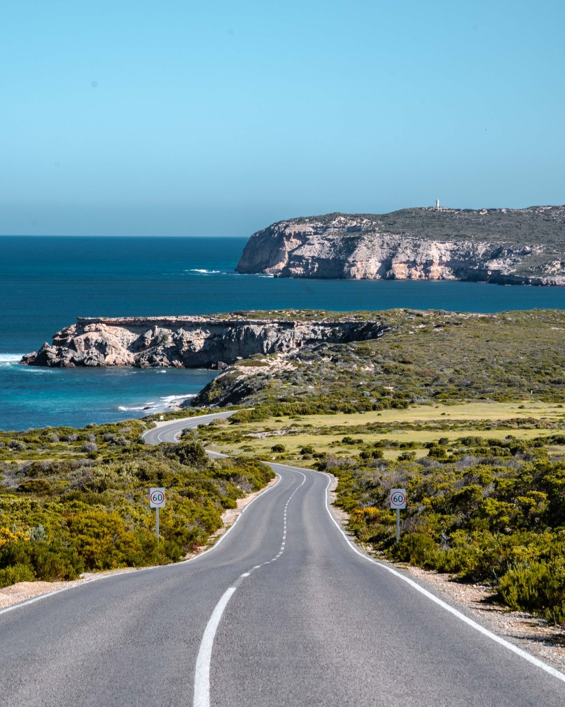 Innes National Park - Winding Road View