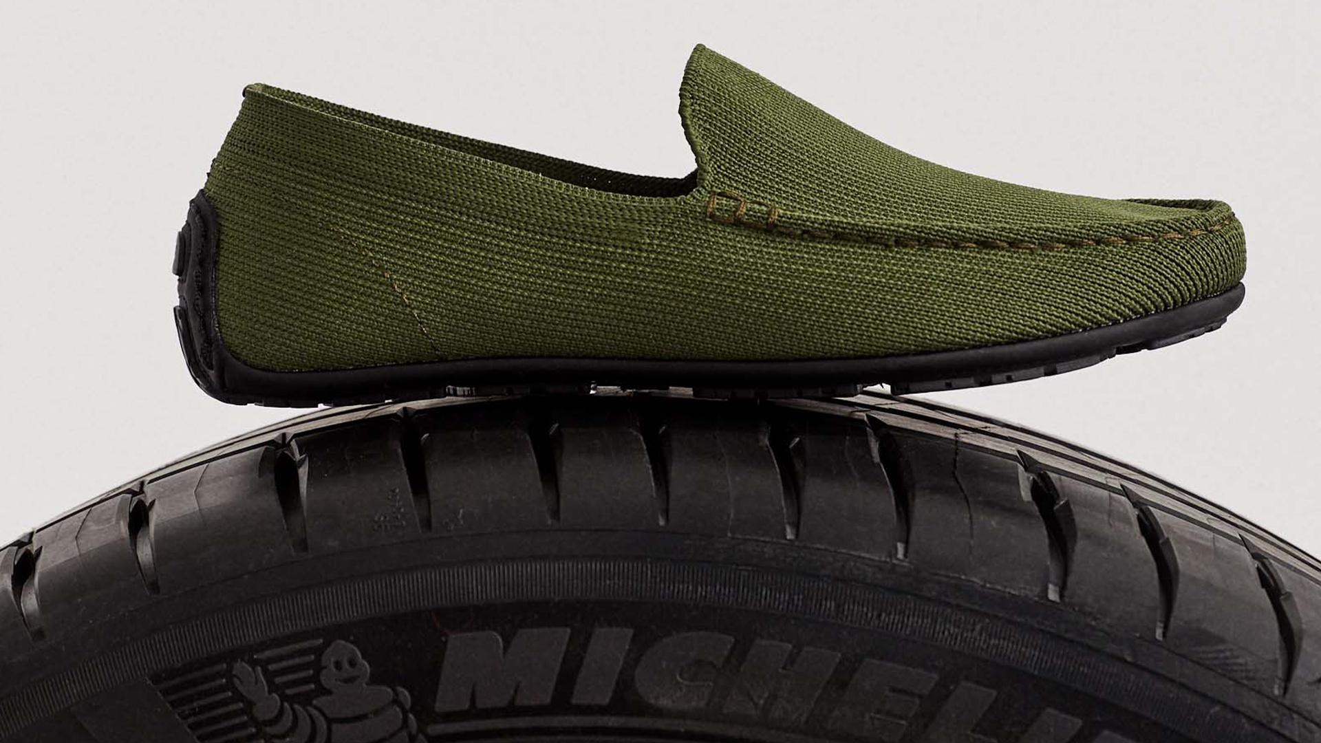 Ecolaf e Michelin suole scarpe sostenibili