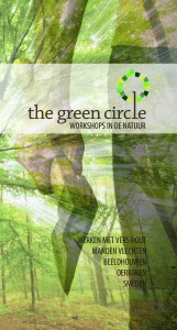 Folder The Green Circle, workshops in de natuur