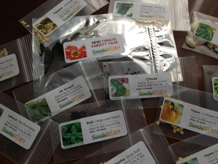 organic and non-gmo seeds from seednow.com