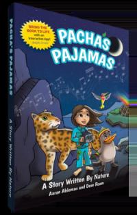 Pachas Pajamas Book on the green divas