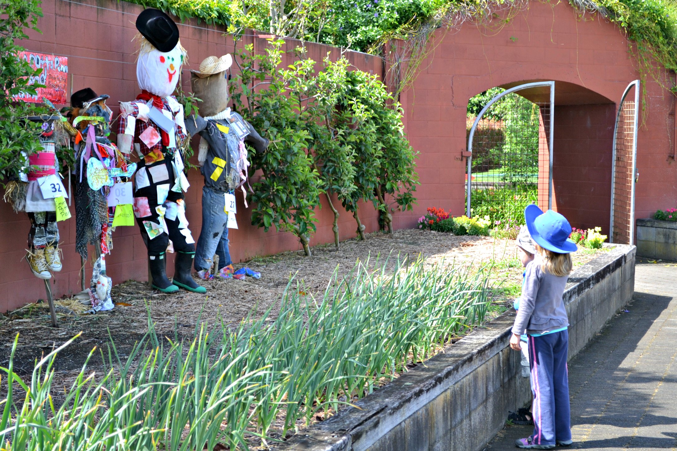 A Gathering Of Scarecrows The Green Dragonfly