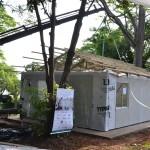 Casa sustentável é construída em menos de três horas
