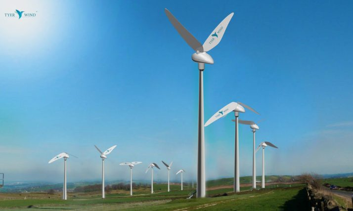 Primeira turbina do mundo a mimetizar beija-flores para produzir energia limpa.