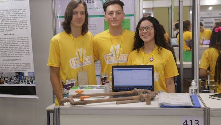 Estudantes do Paraná criam sistema de baixo custo para evitar desperdício de água