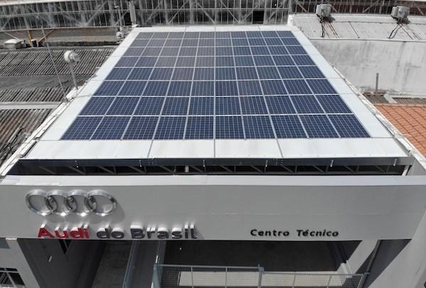 Em SP, centro técnico da Audi é 100% abastecido por energia limpa