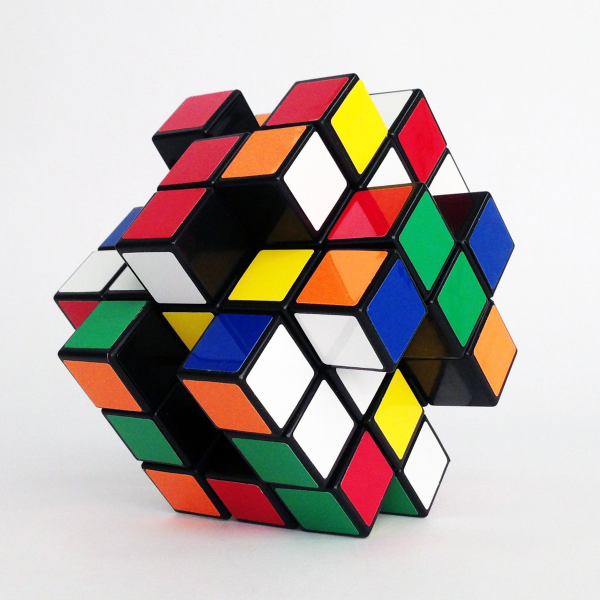 X-Cube Twisting Logic Puzzle - The Green Head