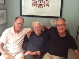 Three Cameron brothers in 2015