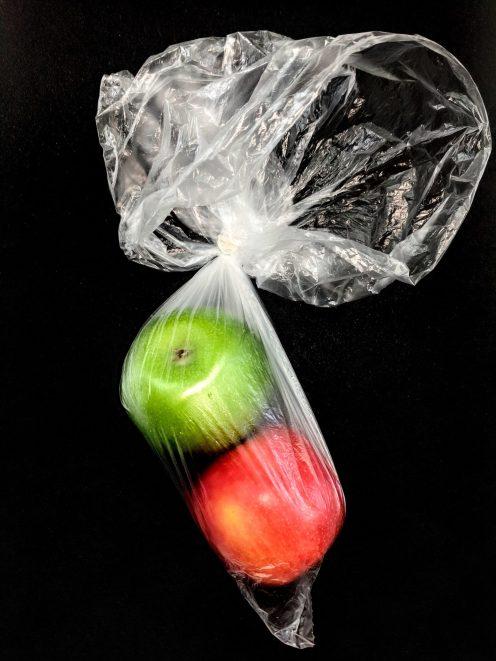 plastic apple