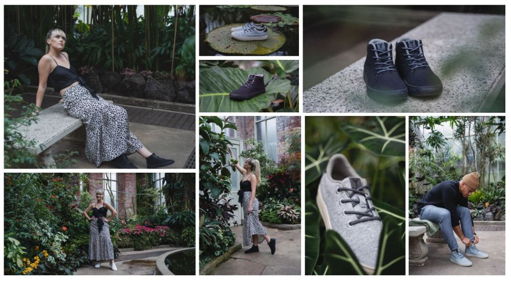 algae-based foam for their shoes