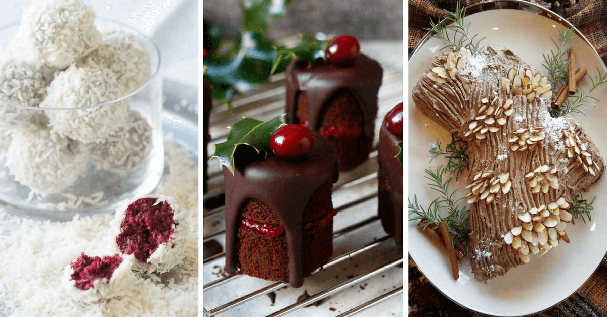 The best 34 Vegan Christmas Desserts & Treats (Healthy, Egg-free Recipes)