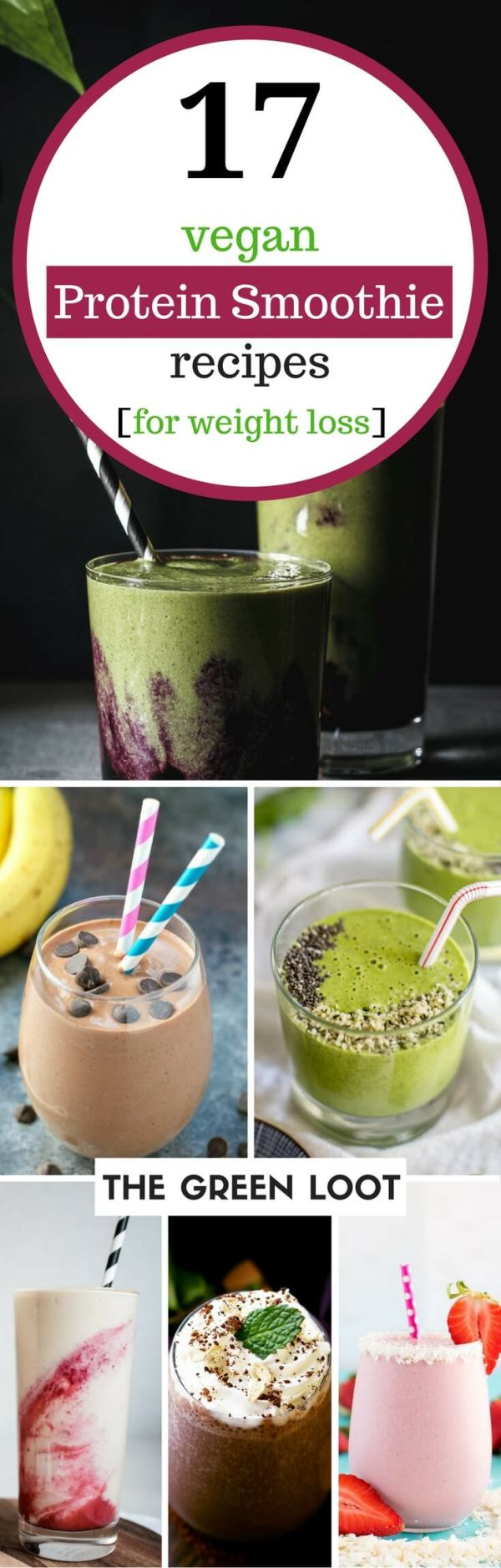 17 Tasty Vegan Protein Smoothie Recipes for Weight Loss ...