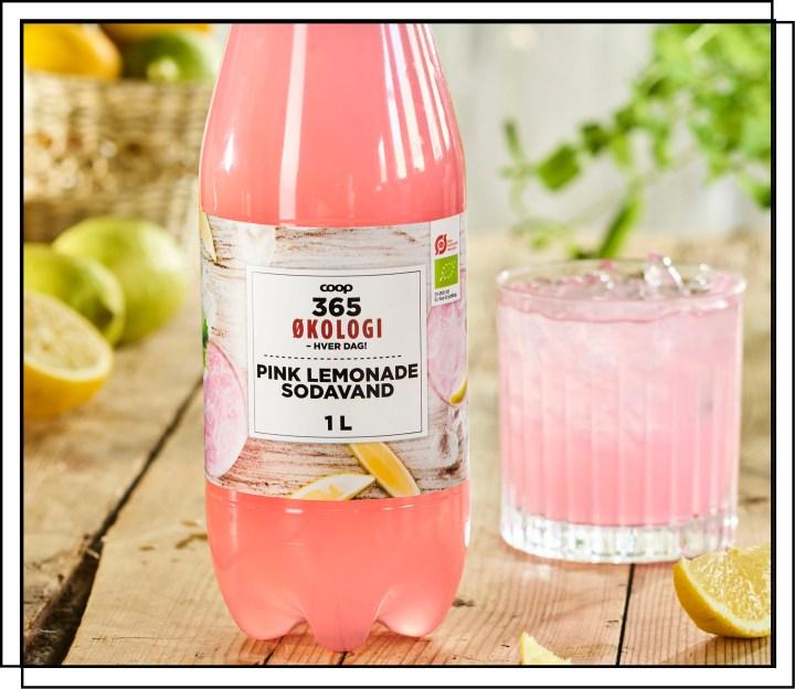 Faktas 365 Pink Lemonade er en private label sodavand fra The Green Oak