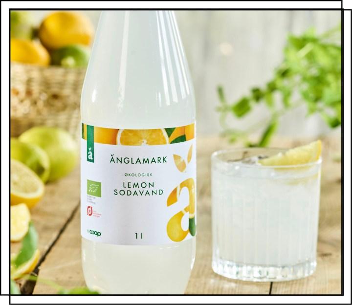 Coop Änglamark Lemon er en private label sodavand fra The Green Oak