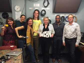 """""""It's Hot in Here"""" on WCBN-FM Ann Arbor"""