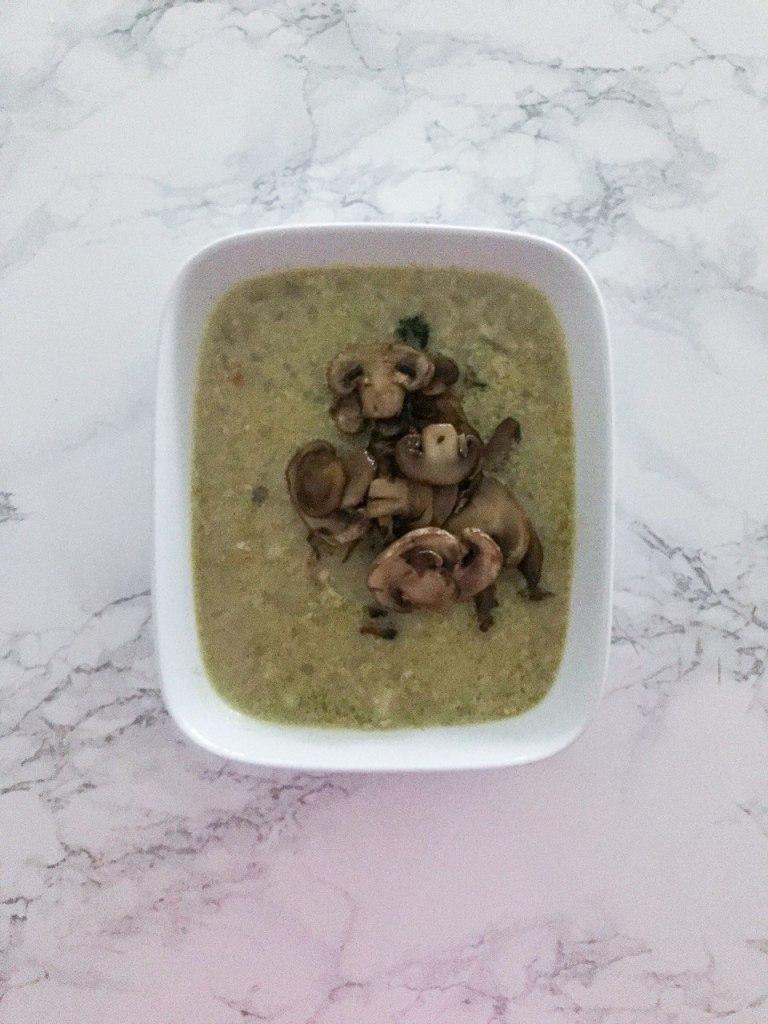 Zuppa araba di ceci e melanzane