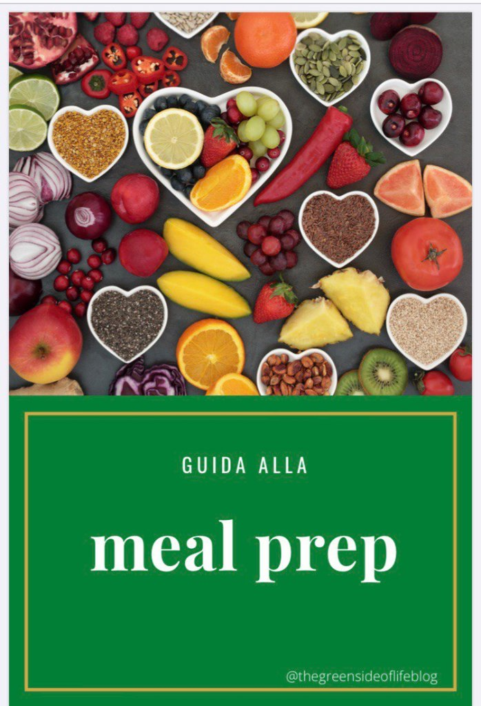 Guida alla meal prep in pdf scaricabile