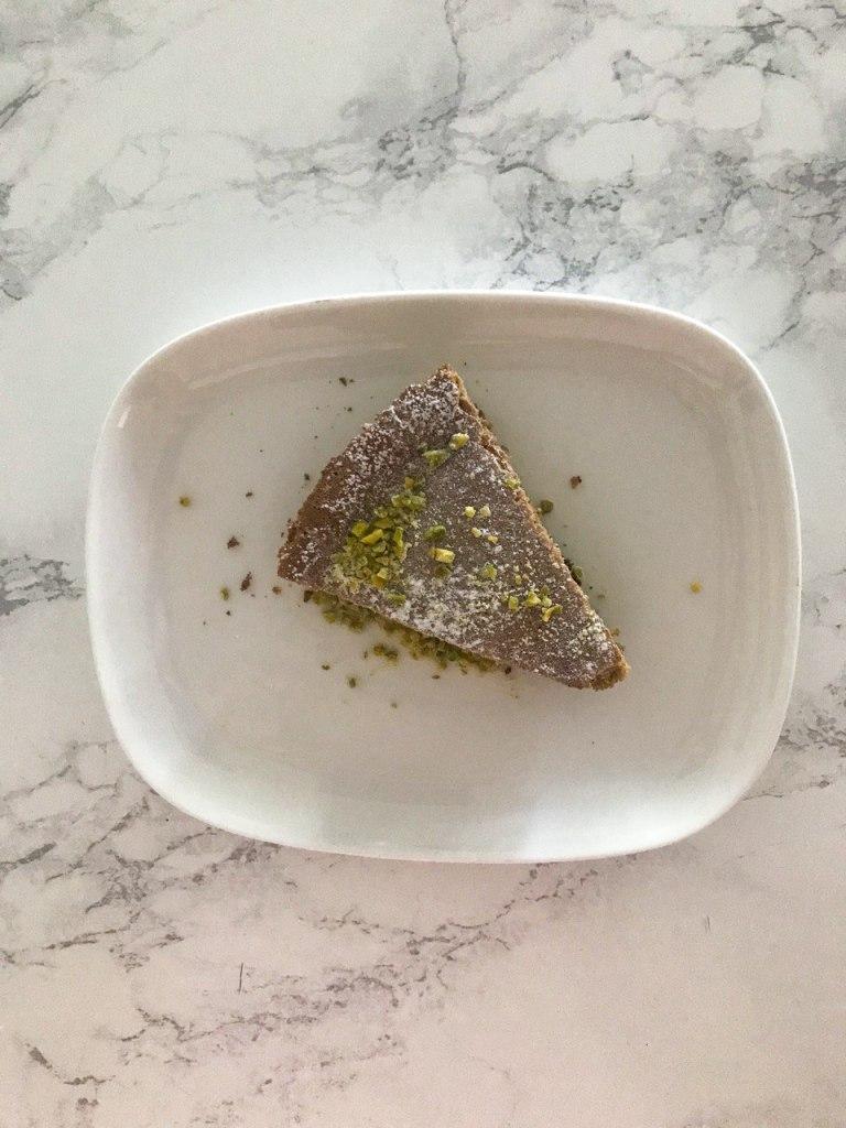 Torta cremosa al pistacchio