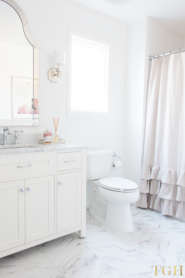 Simple Design Tips for All White Bathrooms - The ... on White Bathroom Design Ideas  id=12096